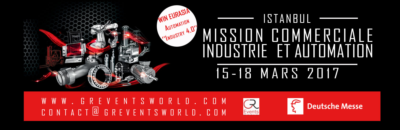 MISSION  COMMERCIALE  INDUSTRIE  ET AUTOMATION